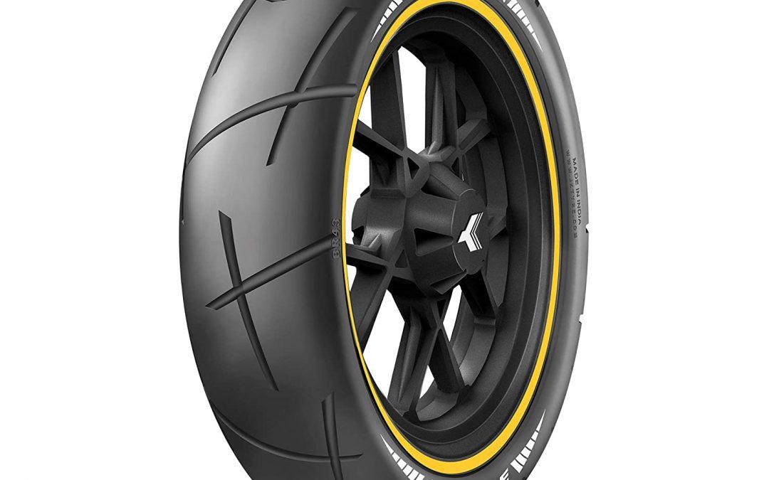 JK TYRE BLAZE RYDR BR43 140/70-17 Tubeless Bike Tyre, Rear