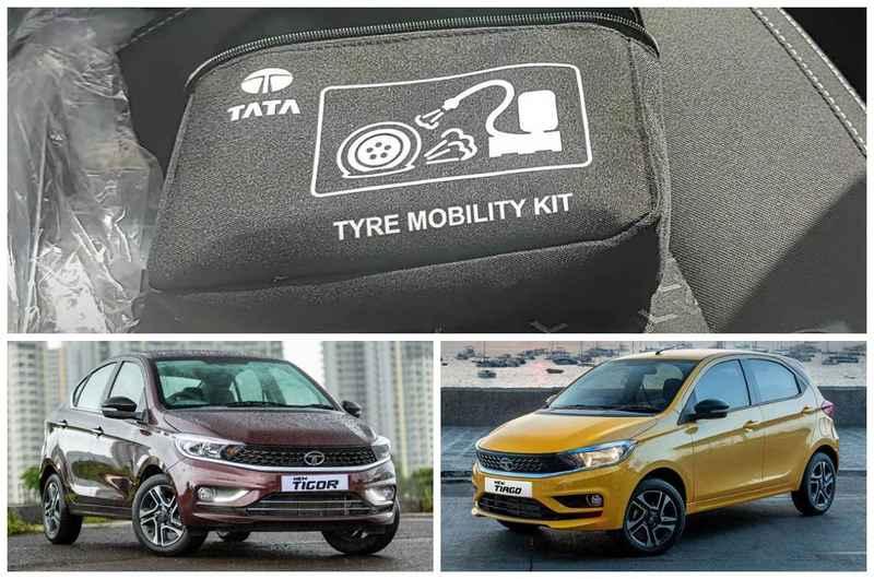 Indian Car Maker Tata Tiago And Tigor Gets Tyre Mobility Kit And TPMS
